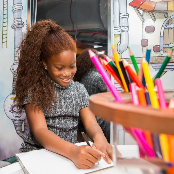 Get drawing in our Illustration Stations