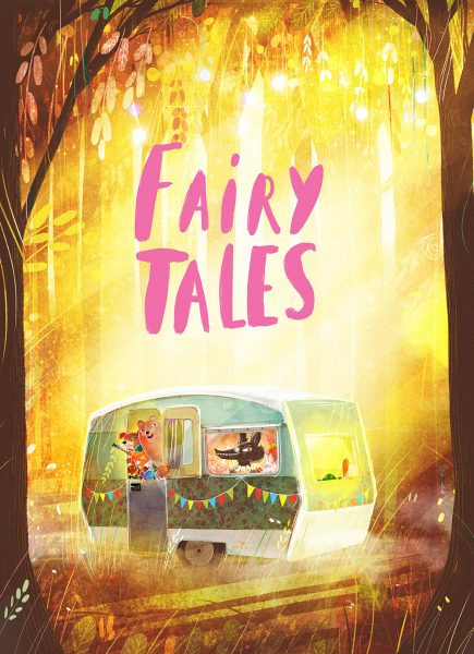 Fairy Tales immersive exhibition, opening 15 February.