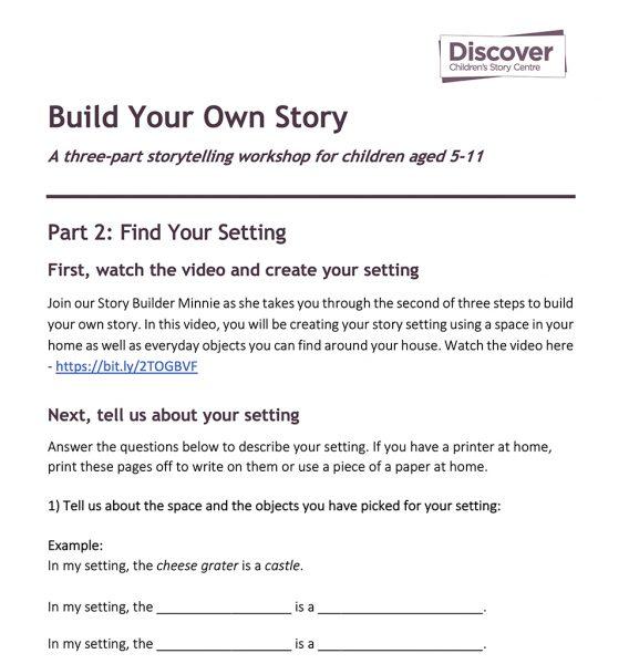Worksheet (Download via link above)
