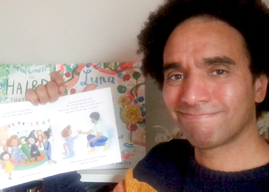 Online event with author Joseph Coelho and illustrator Fiona Lumbers (Press play or visit link above)